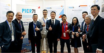 PIER71 exhibits at the Singapore Maritime Technology Conference 2018