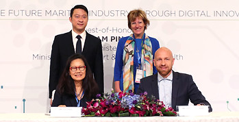 NUS Enterprise signs MOU with Dutch Port Accelerator, PortXL