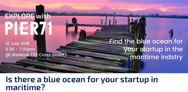 Where is the blue ocean for your startup in maritime?