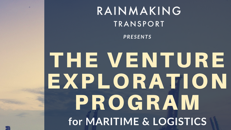 EXPLORE The Venture Exploration Programme for Maritime & Logistics
