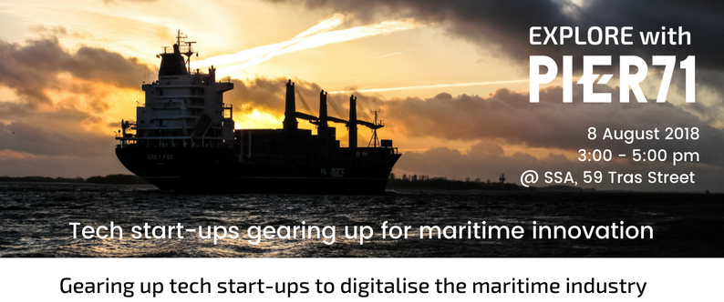 Gearing up tech start-ups to digitalise the maritime industry