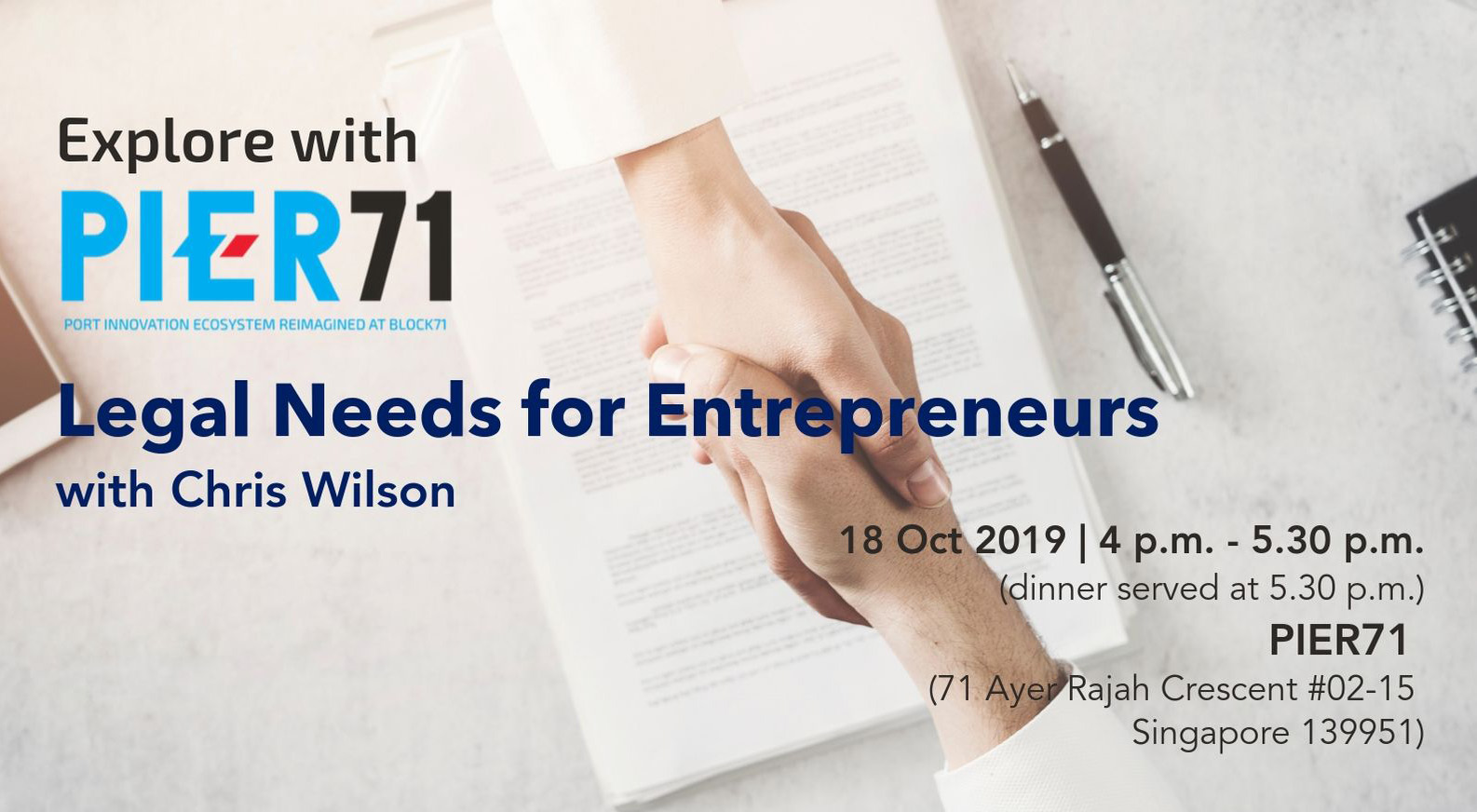 Legal Needs for Entrepreneurs with Chris Wilson
