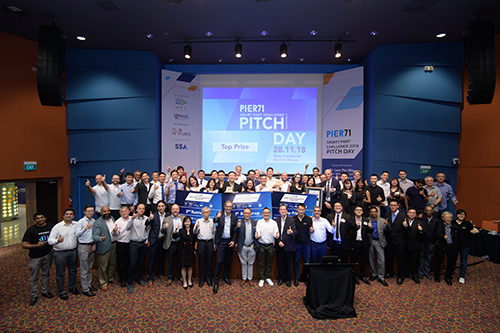 PIER71 collaborates with 13 startups, presenting tech solutions for Singapore's maritime industry