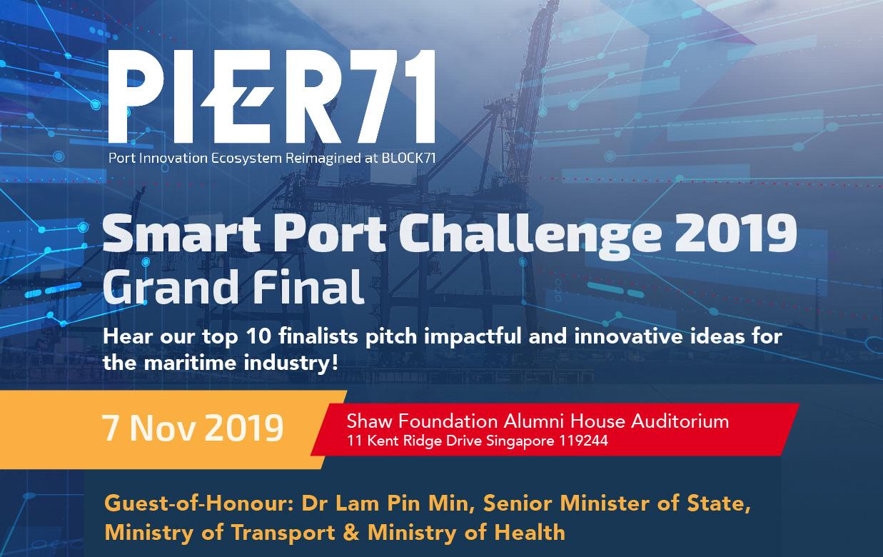 PIER71 Smart Port Challenge 2019 Grand Final