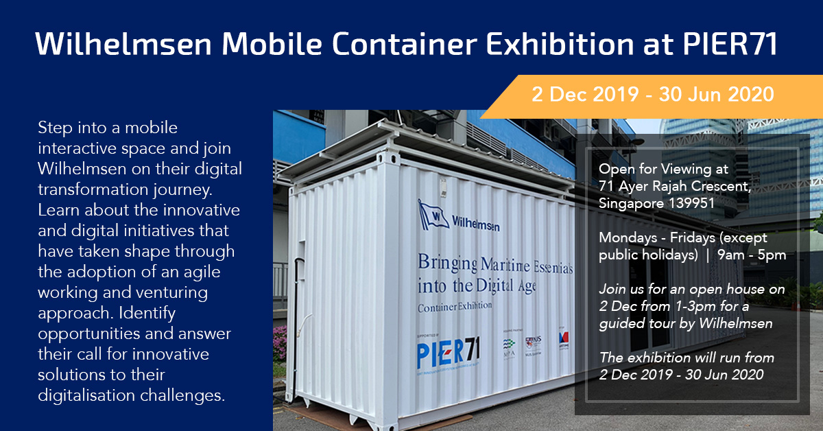 Wilhelmsen Mobile Container Showcase