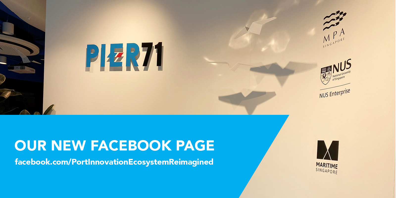 PIER71 has a new Facebook page!