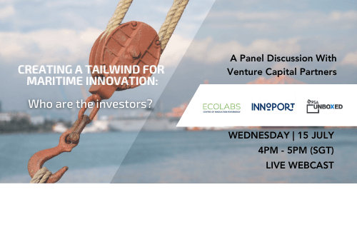 Creating a tailwind for maritime innovation: Who are the investors?