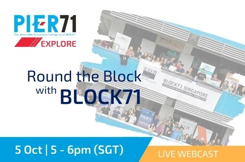 Round the block with BLOCK71