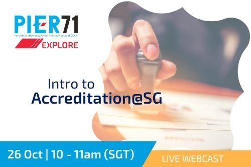 Intro to Accreditation@SG