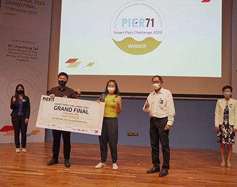 Winners of Smart Port Challenge 2020!