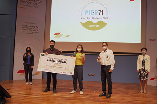 Winners of Smart Port Challenge 2020 Bring Tech Innovation to Maritime