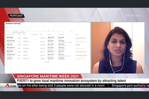 Portcast on the Singapore maritime landscape for start-ups