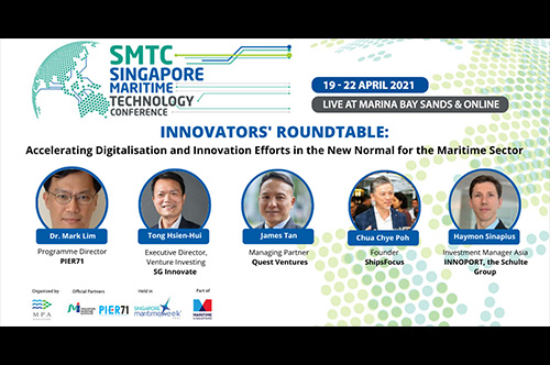 Accelerating Digitalisation and Innovation Efforts in the New Normal for the Maritime Sector