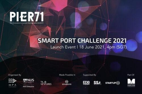 Launch of Smart Port Challenge 2021
