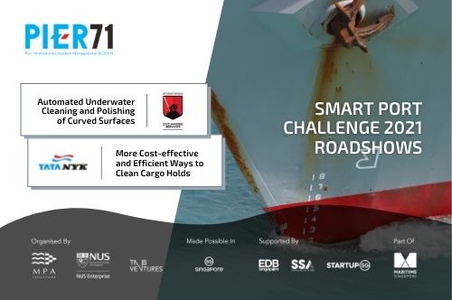 SPC2021 Roadshow: Cleaning of Underwater Curved Surfaces & Cargo Holds