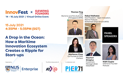 A Drop in the Ocean: How a Maritime Innovation Ecosystem Creates a Ripple for Start-ups