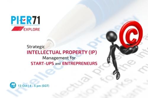 Strategic IP Management for Start-ups & Entrepreneurs